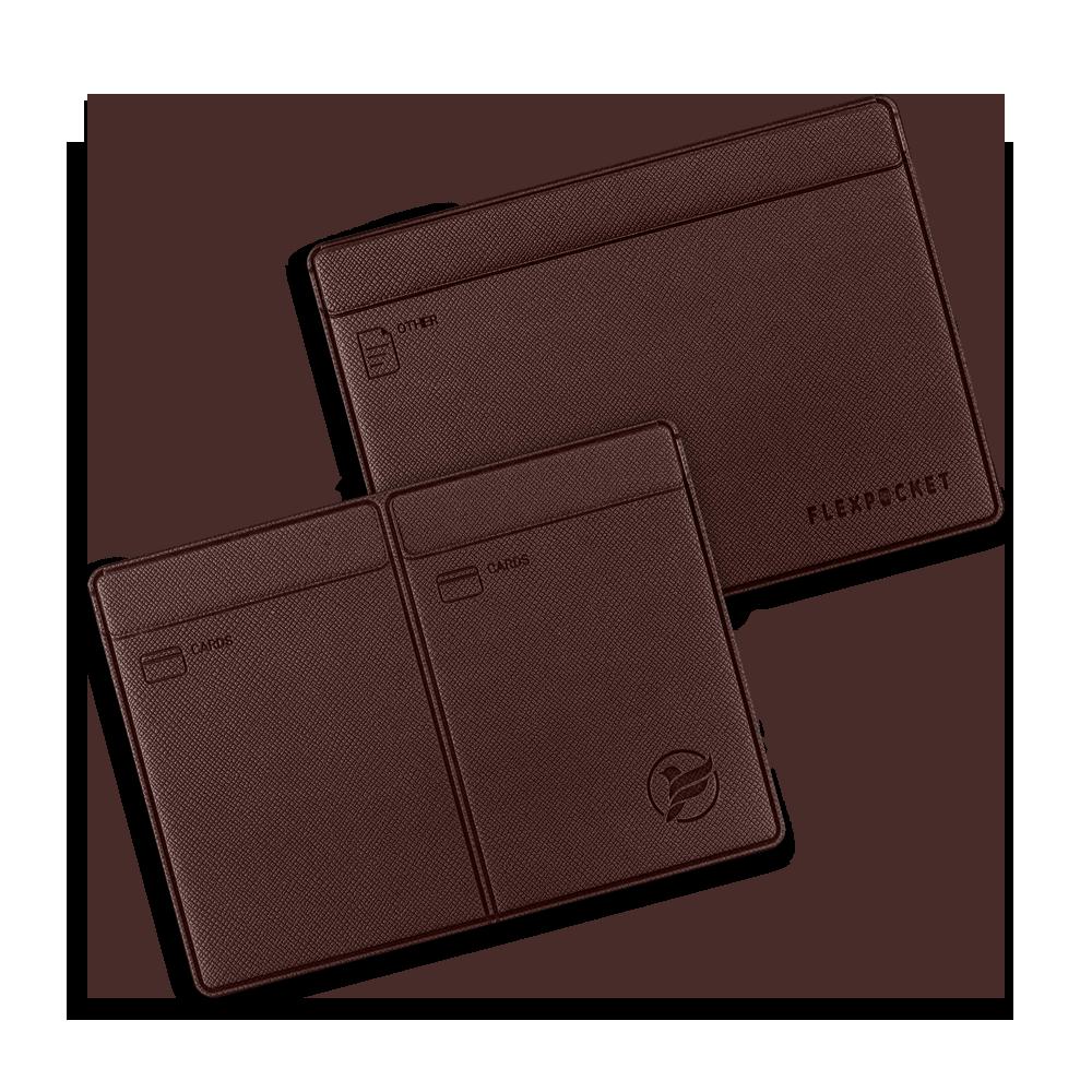 Автодокументница компакт, цвет коричневый