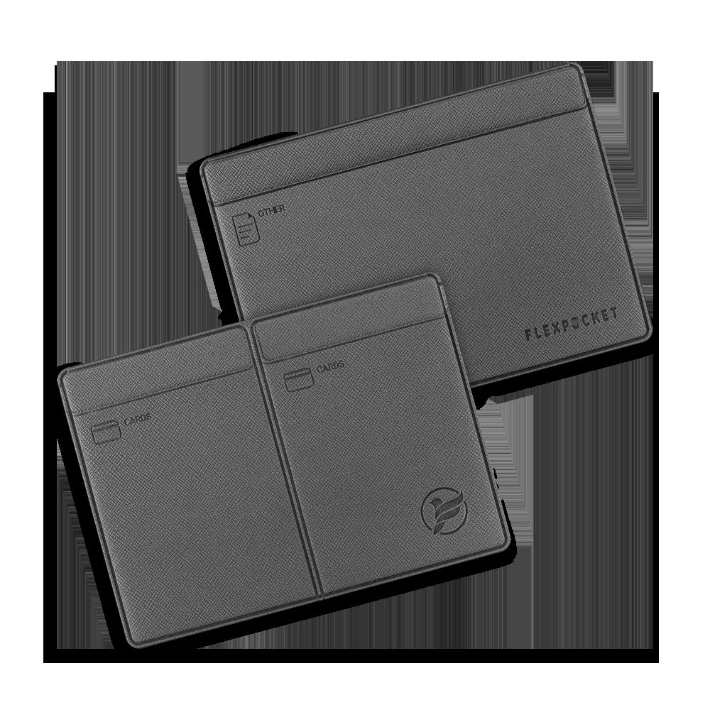 Автодокументница компакт, цвет серый