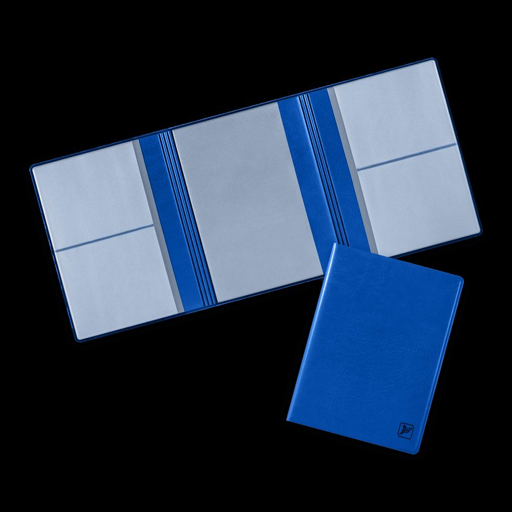 Автодокументница на магнитах, цвет синий classic