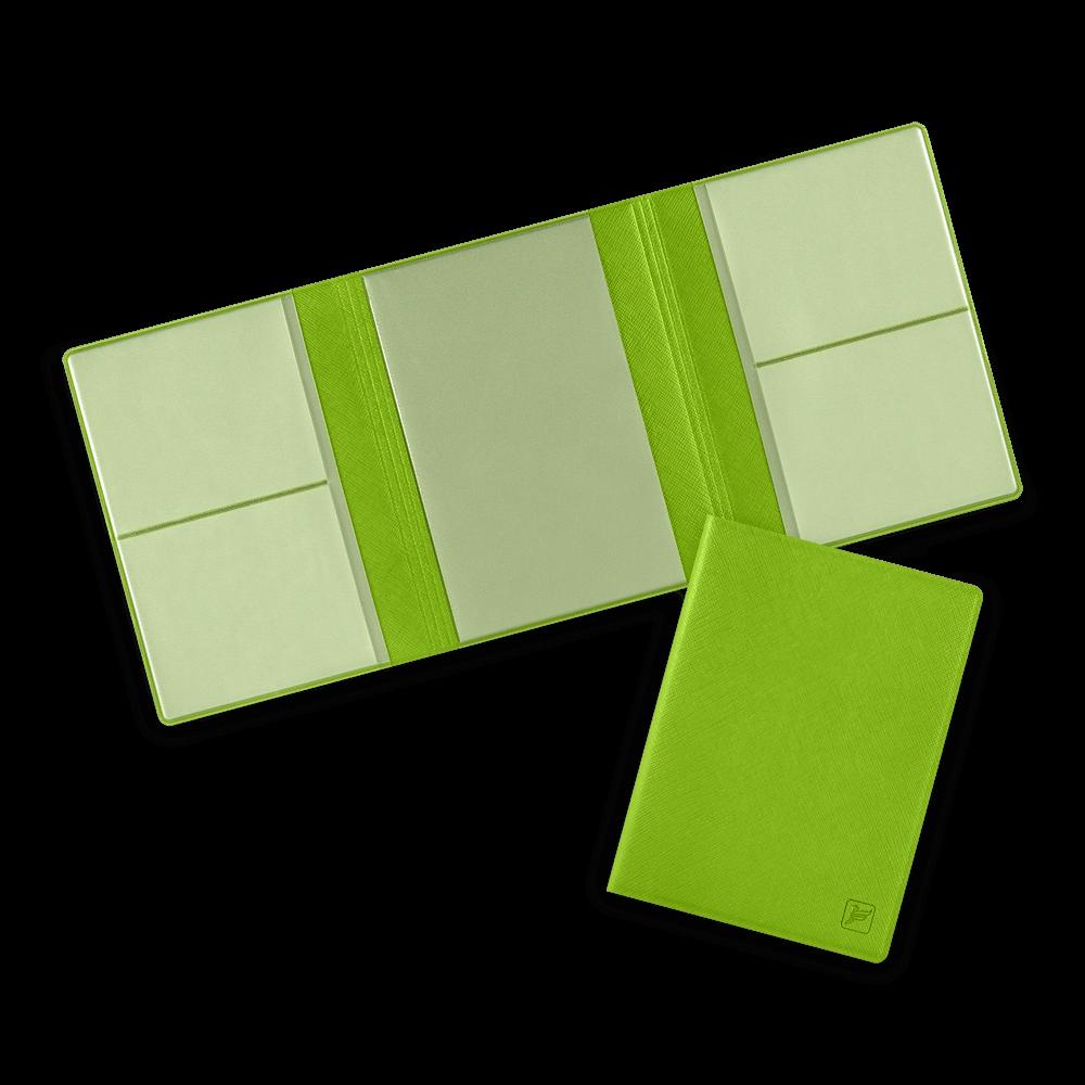 Автодокументница на магнитах, цвет зеленый