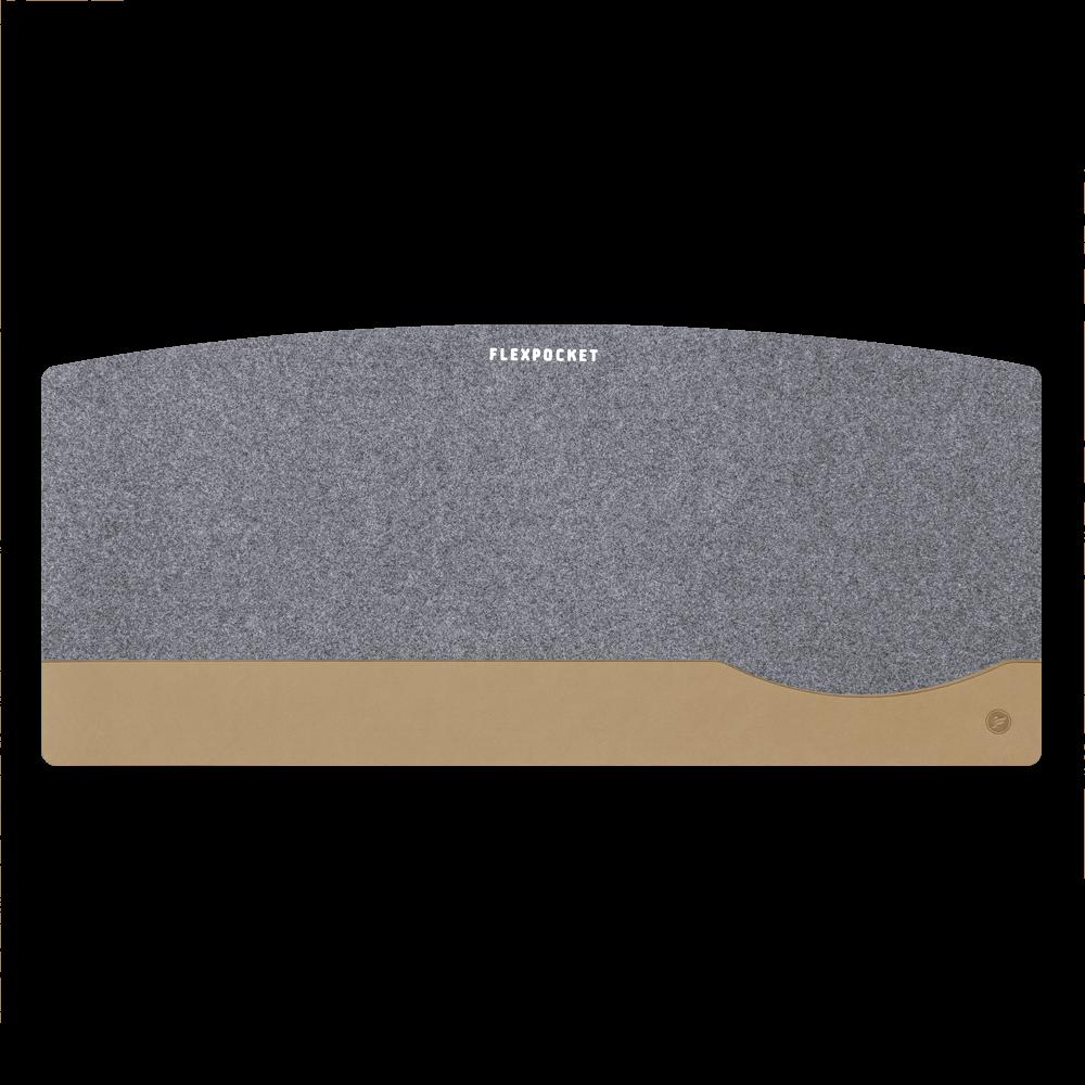 Настольный мат из фетра — большой, цвет бежевый