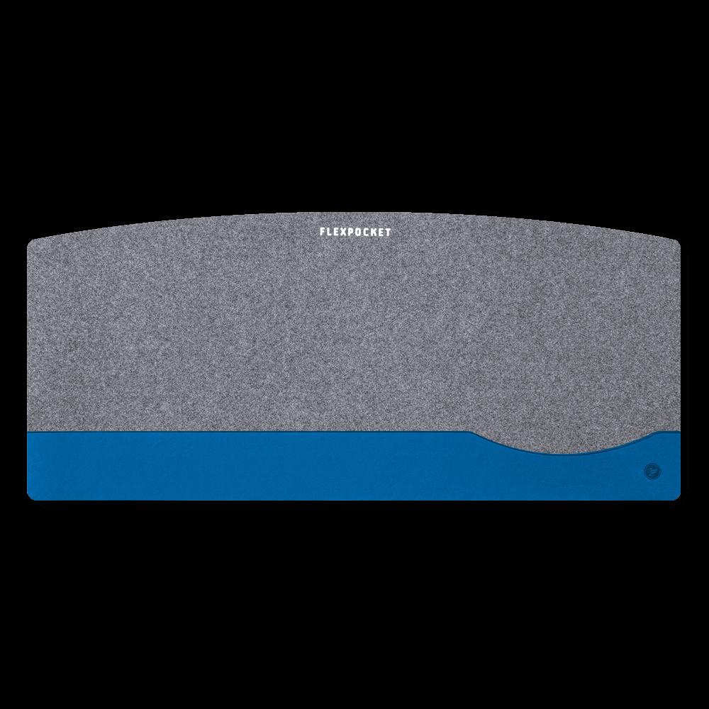 Настольный мат из фетра — большой, цвет синий