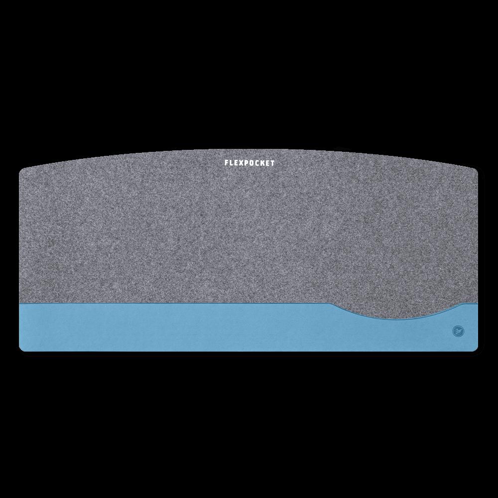 Настольный мат из фетра — большой, цвет голубой
