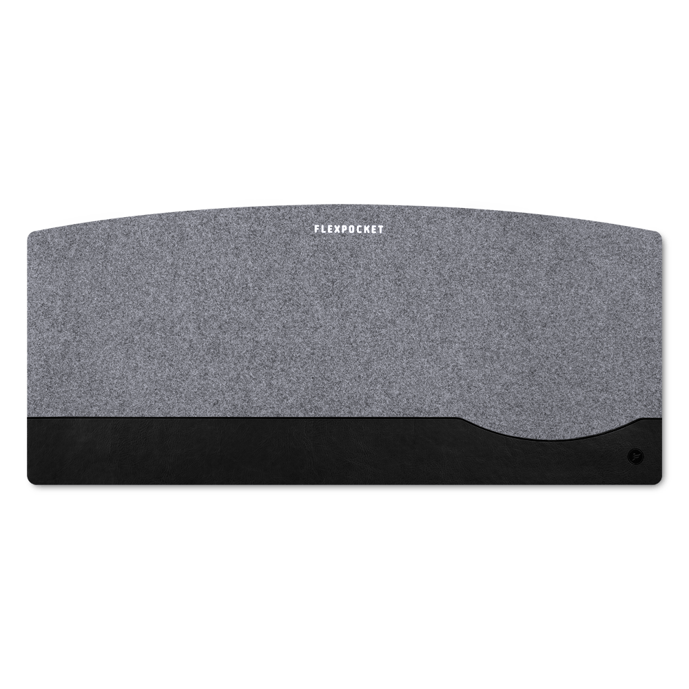 Настольный мат из фетра — большой, цвет черный classic