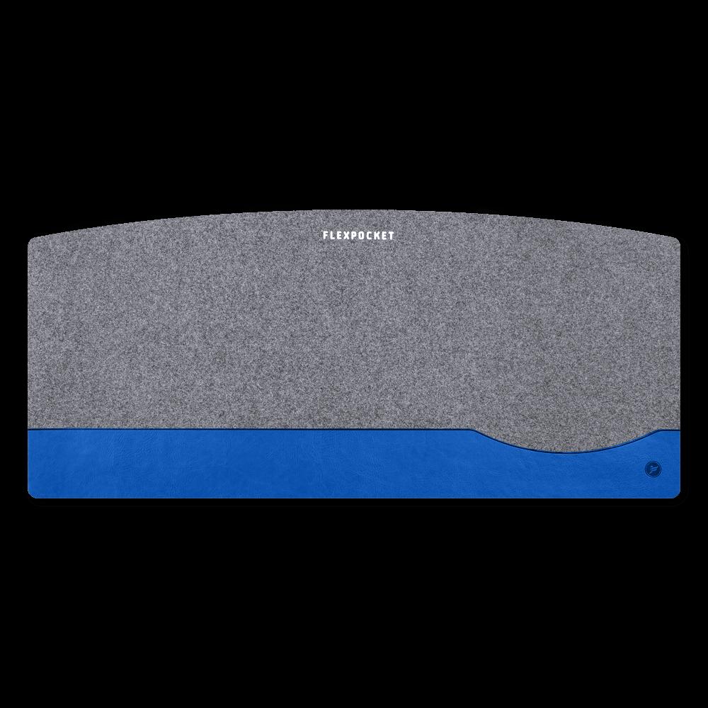 Настольный мат из фетра — большой, цвет синий classic