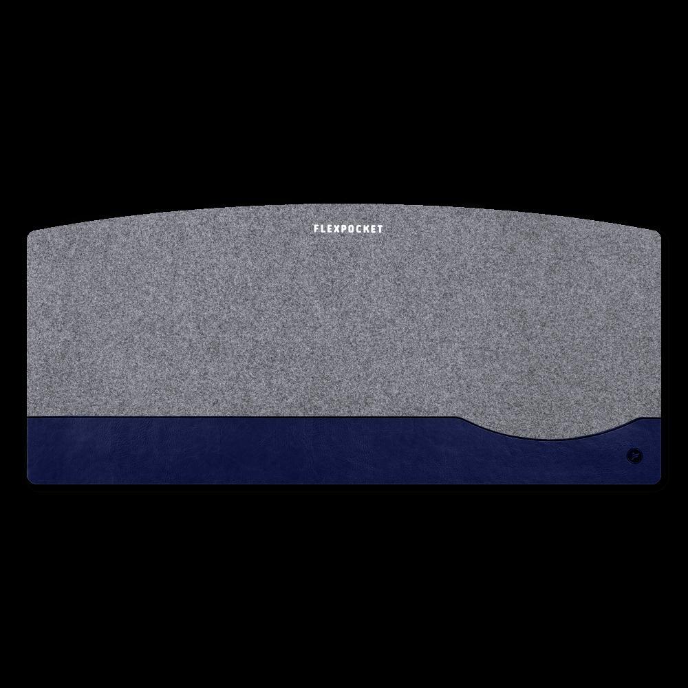Настольный мат из фетра — большой, цвет темно-синий classic