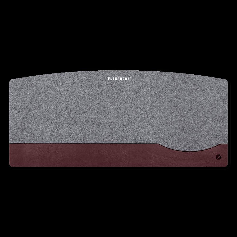 Настольный мат из фетра — большой, цвет коричневый classic