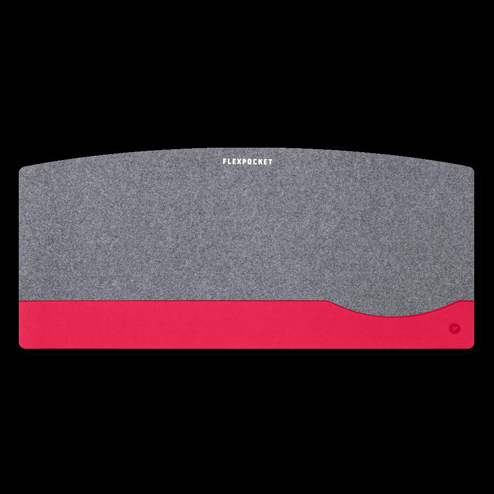 Настольный мат из фетра — большой, цвет маджента