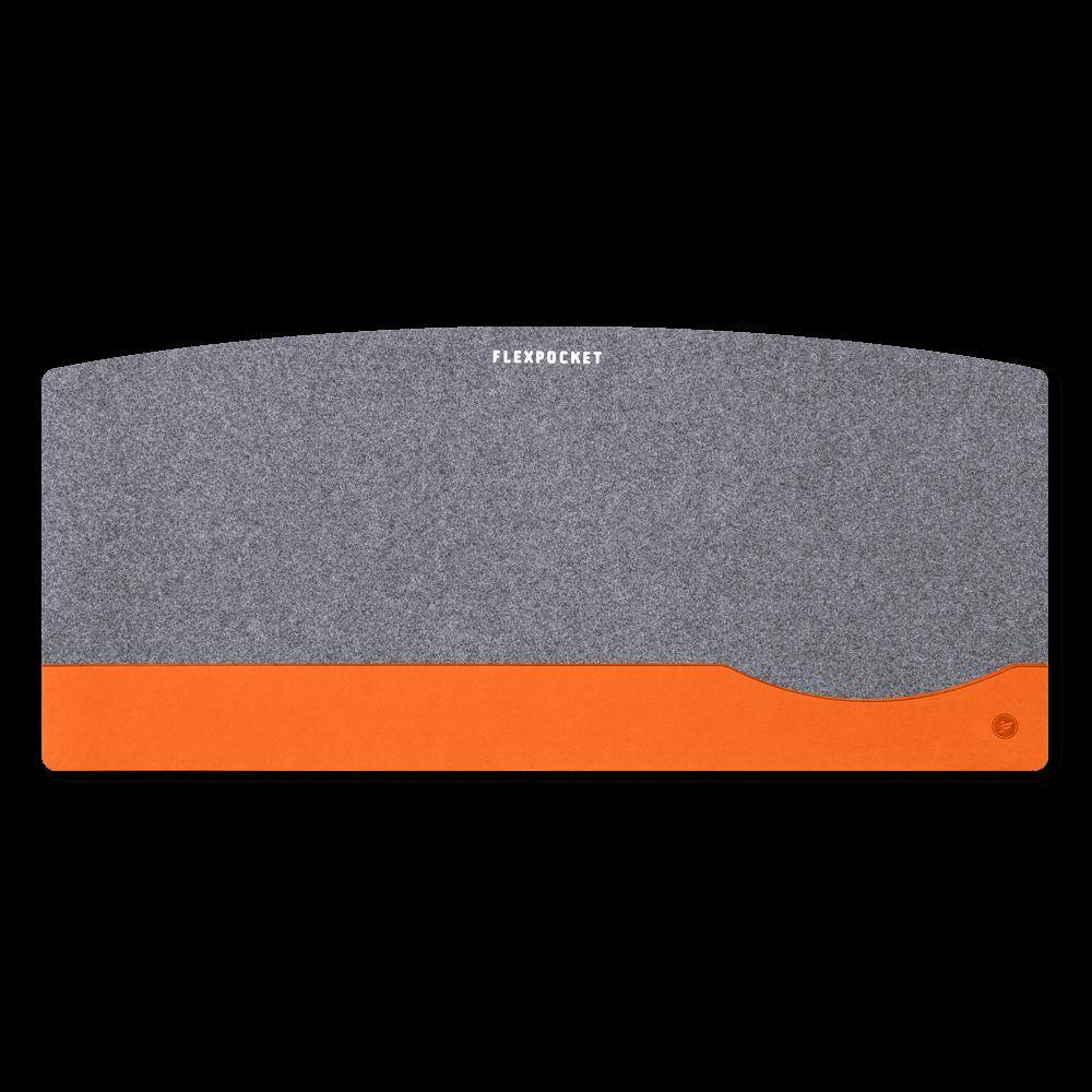 Настольный мат из фетра — большой, цвет оранжевый