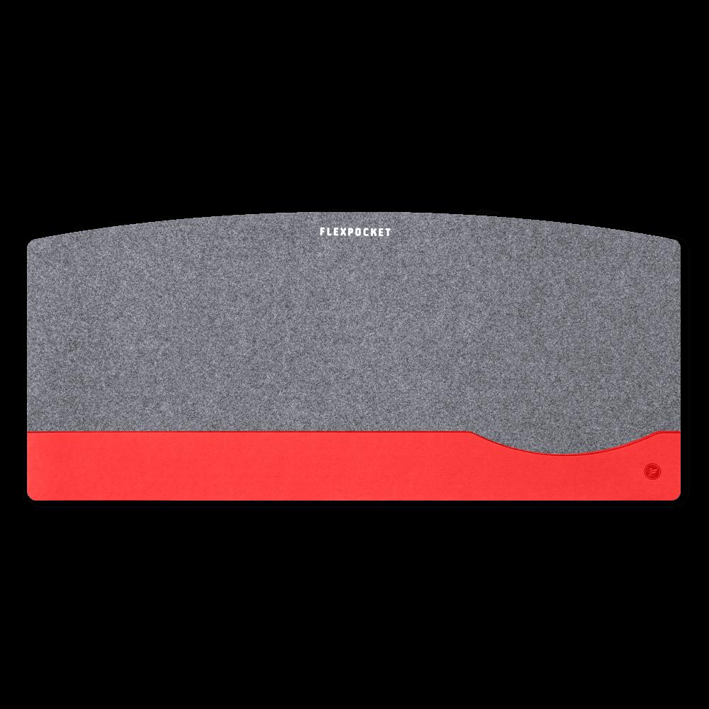 Настольный мат из фетра — большой, цвет красный