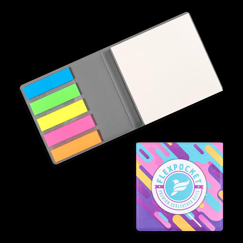 Футляр для стикеров, полноцветная печать