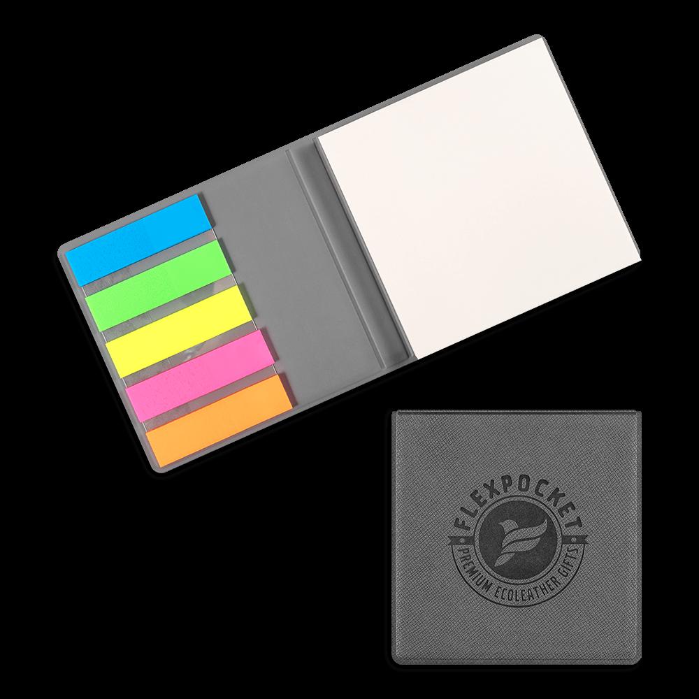 Футляр для стикеров, цвет серый