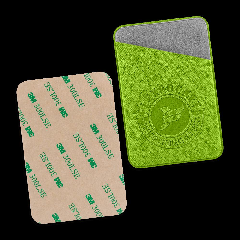 Чехол на клеевой основе, цвет зеленый