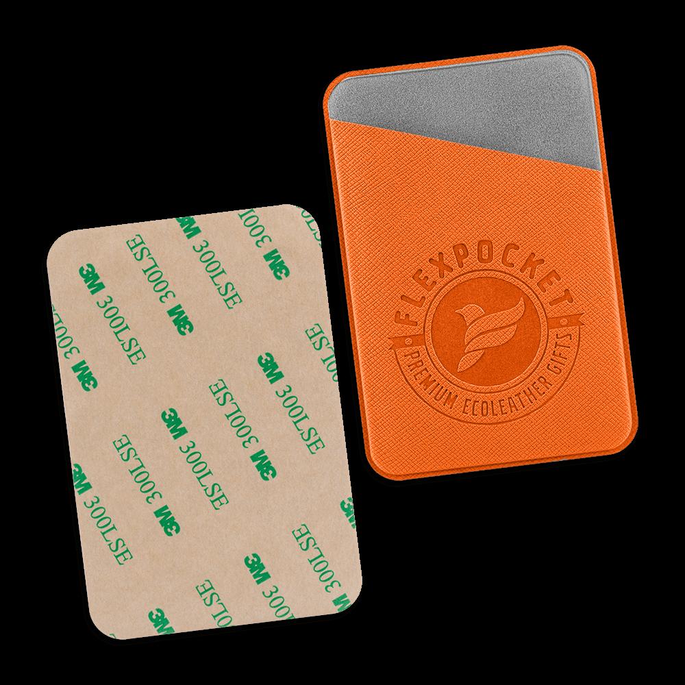 Чехол на клеевой основе, цвет оранжевый