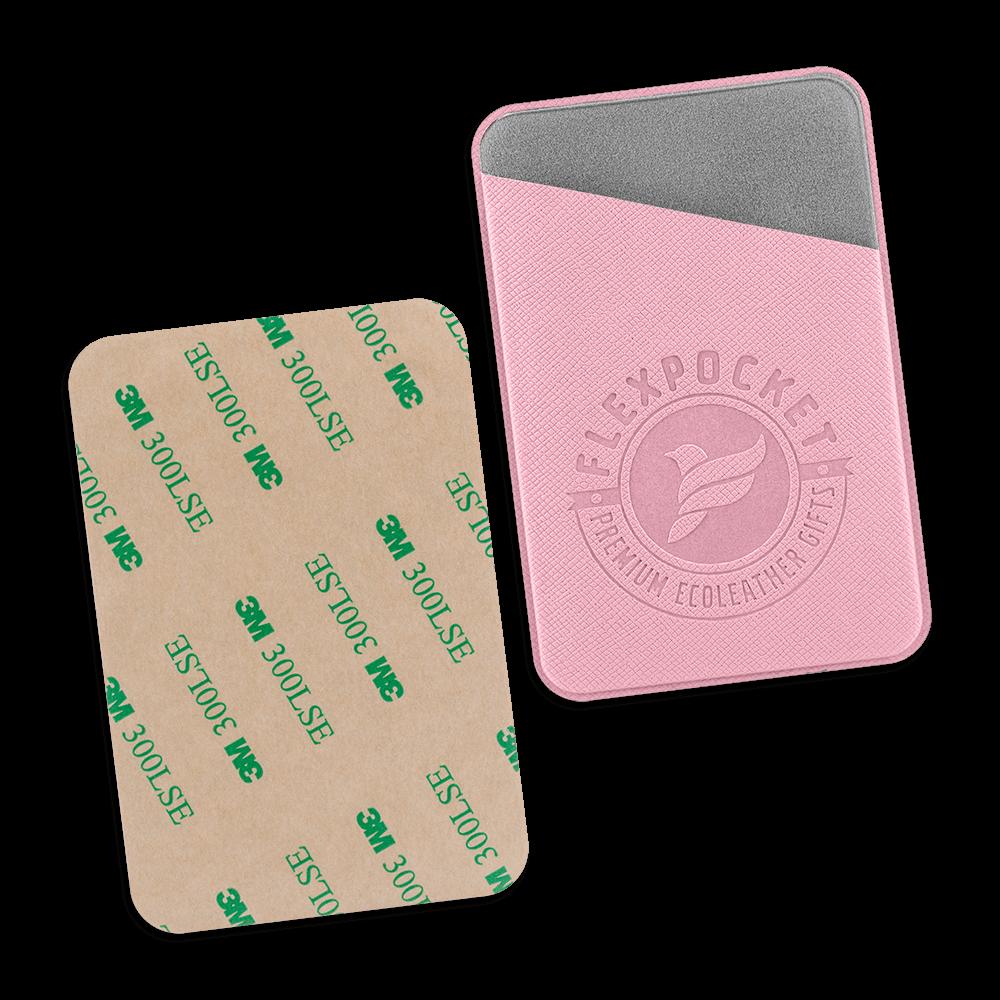 Чехол на клеевой основе, цвет розовый