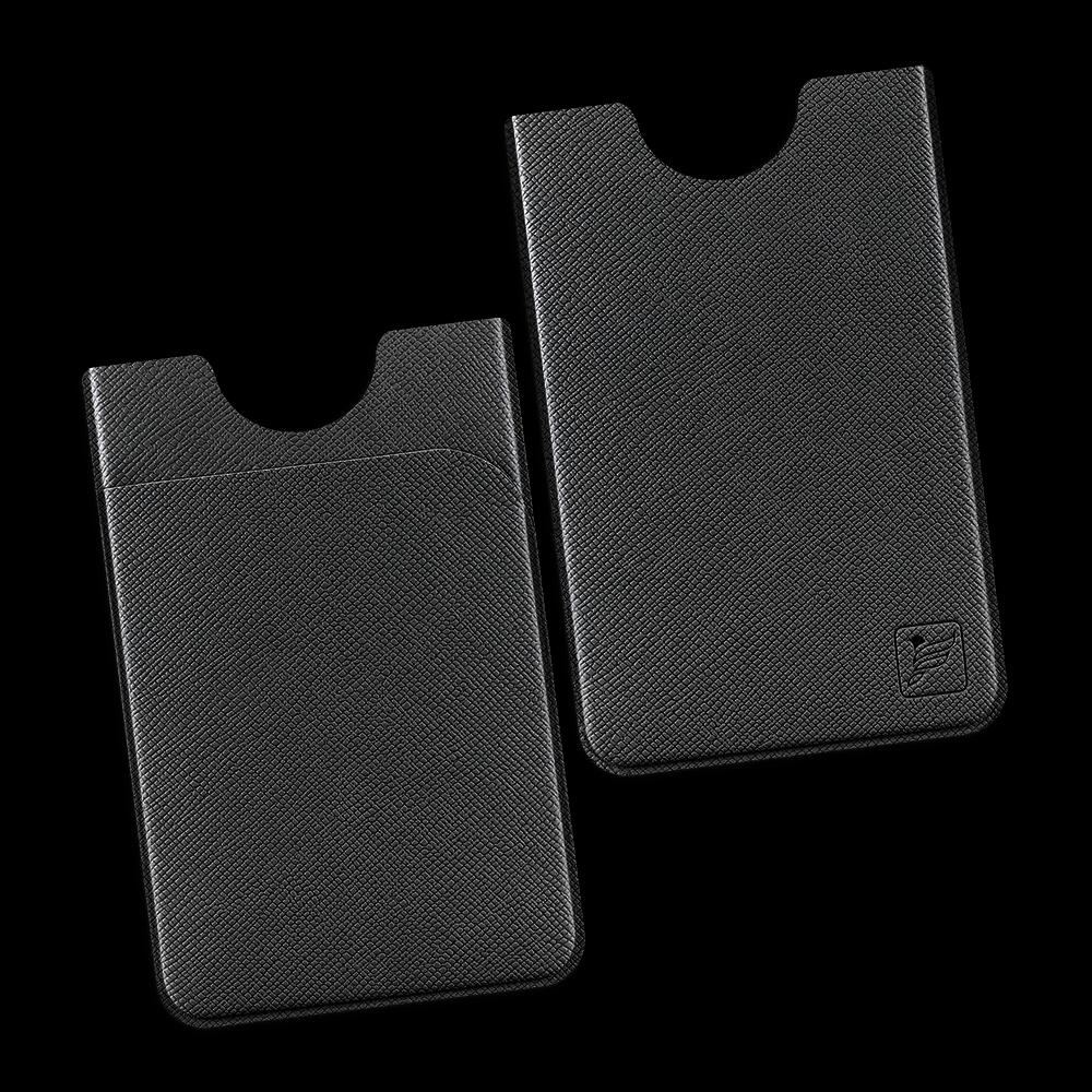 Чехол с двойным карманом, цвет черный