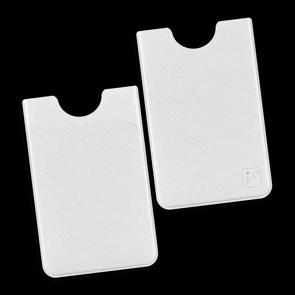 Чехол с двойным карманом, цвет белый