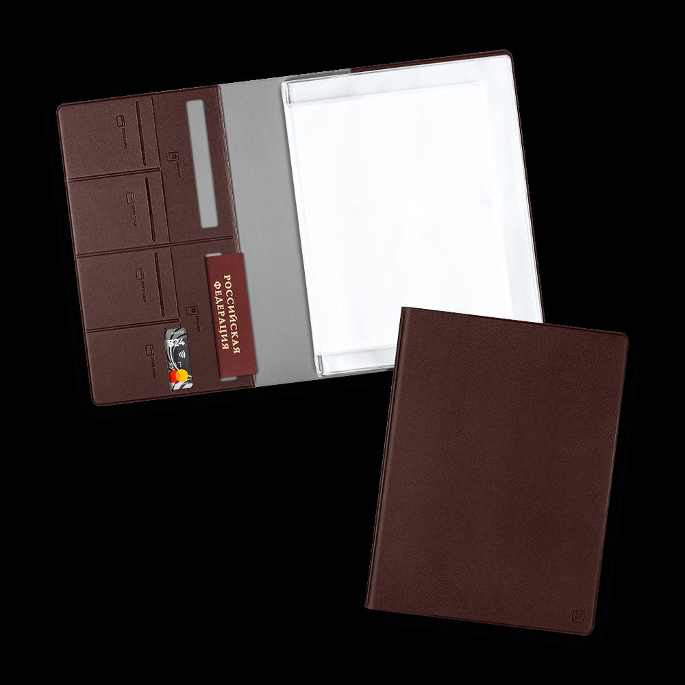 Органайзер для документов, цвет коричневый