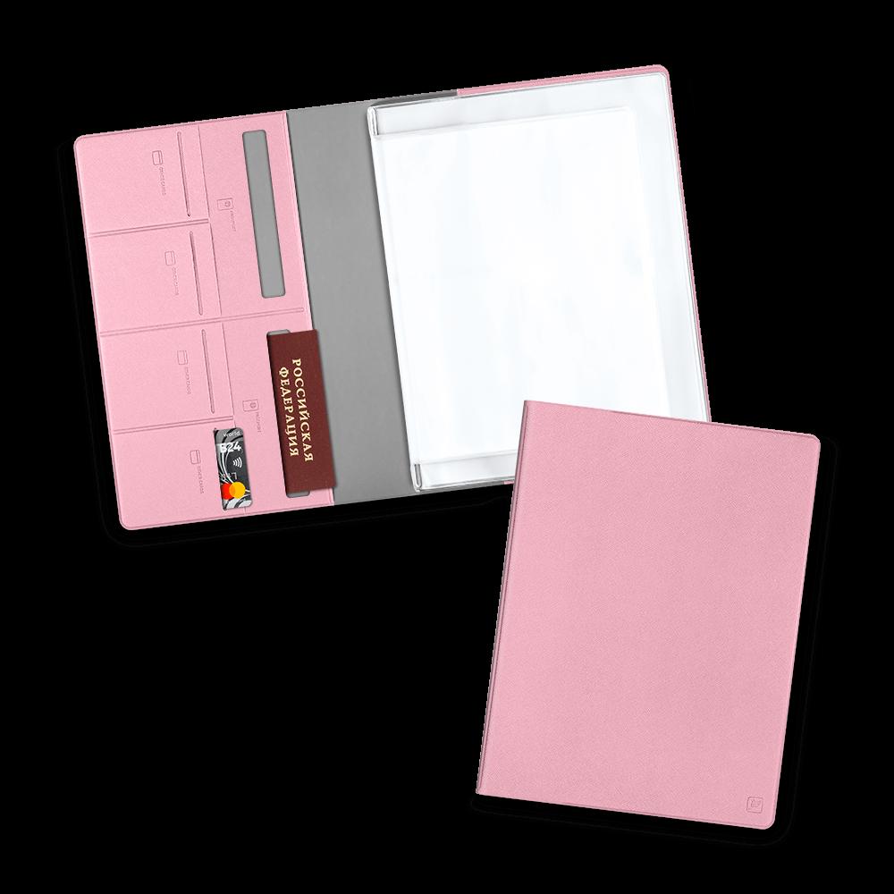 Органайзер для документов, цвет розовый