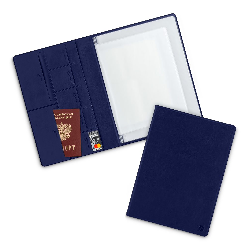 Органайзер для документов A4, цвет темно-синий classic