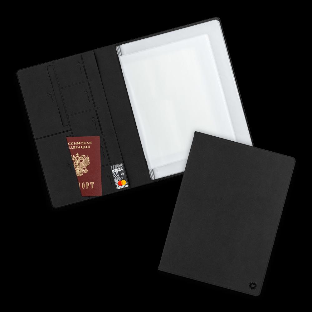 Органайзер для документов A4, цвет черный