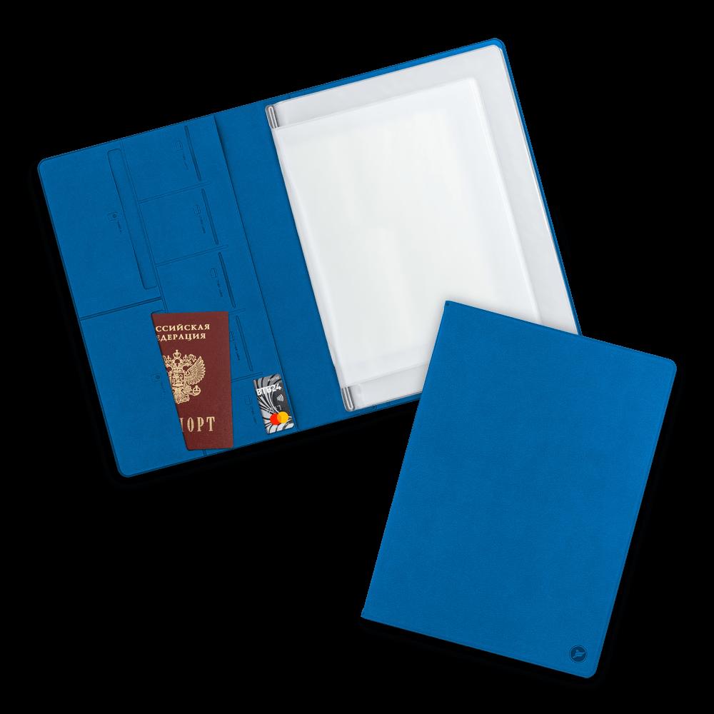 Органайзер для документов A4, цвет синий
