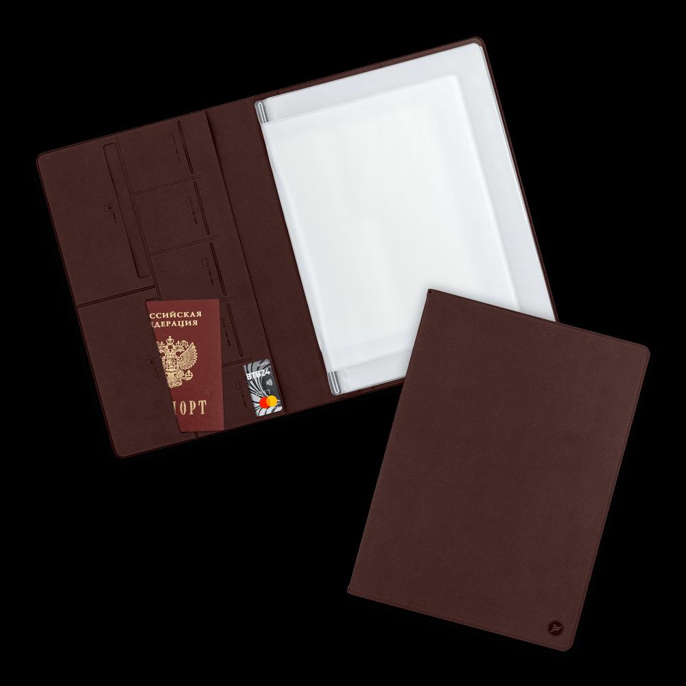 Органайзер для документов A4, цвет коричневый