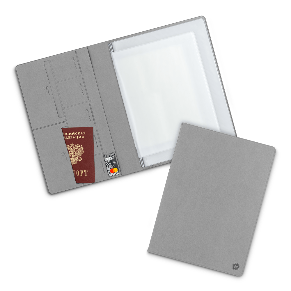 Органайзер для документов A4, цвет светло-серый