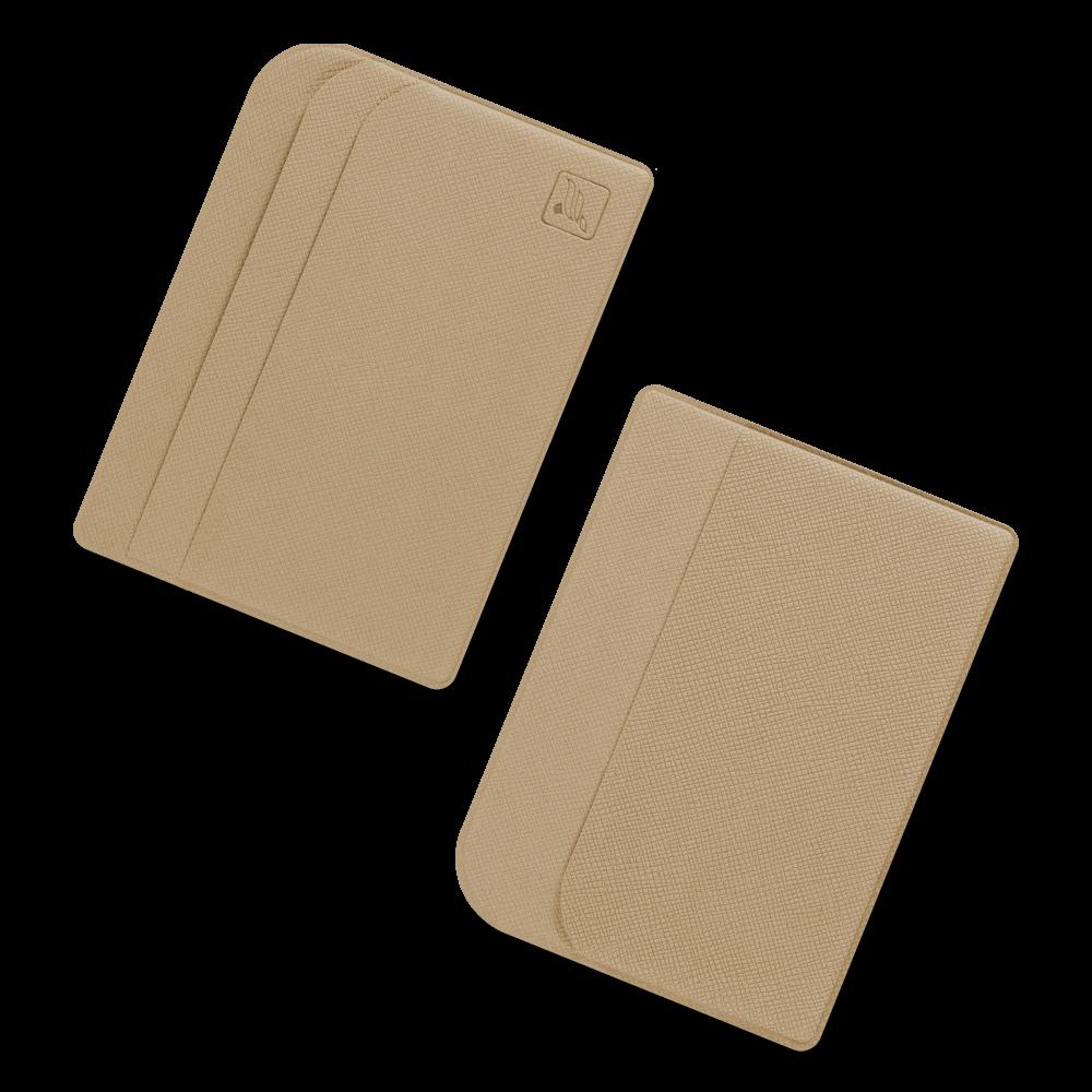 Футляр для пластиковых карт, цвет бежевый