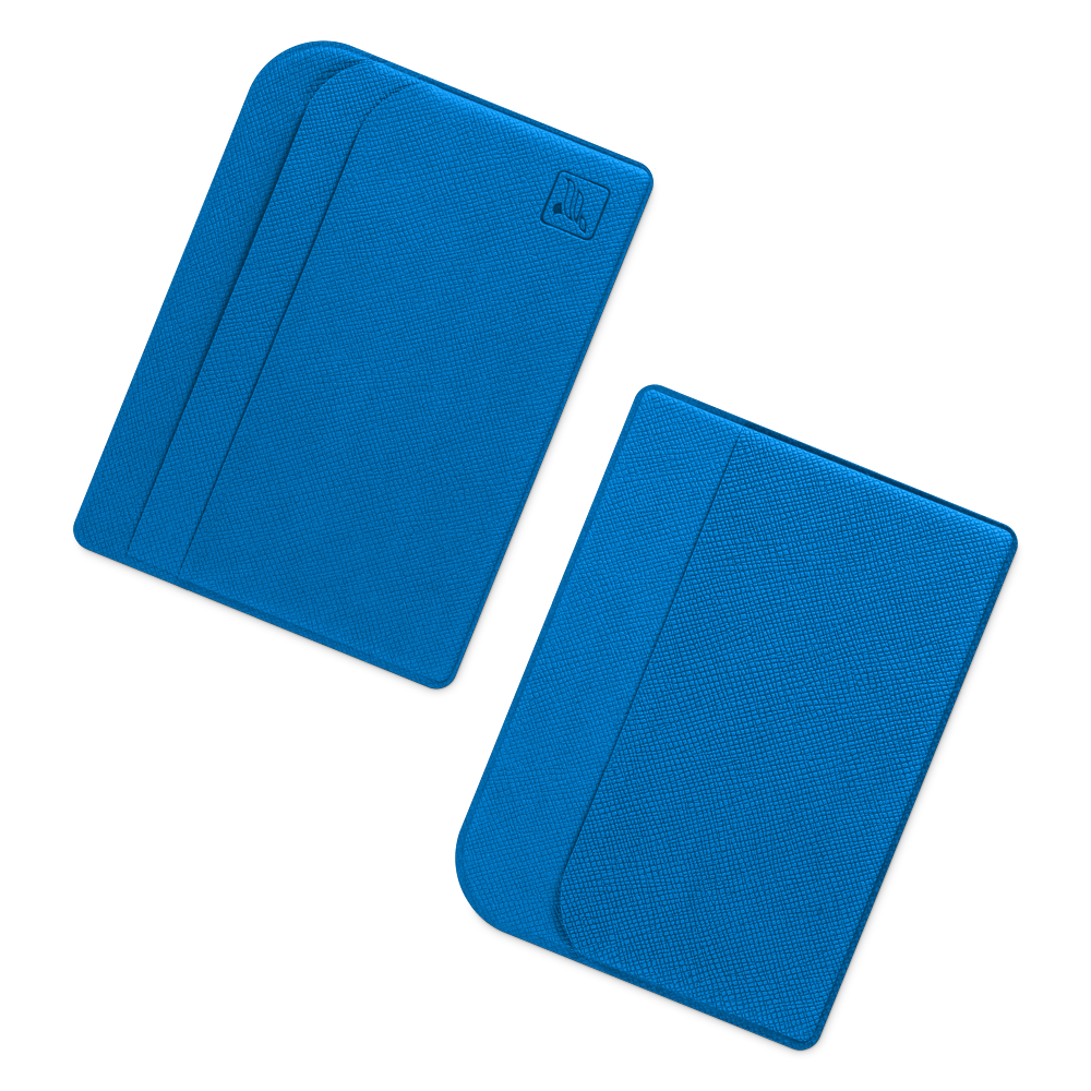 Футляр для пластиковых карт, цвет синий