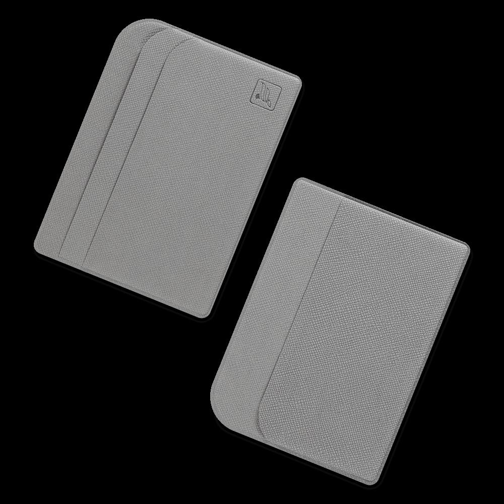 Футляр для пластиковых карт, цвет светло-серый