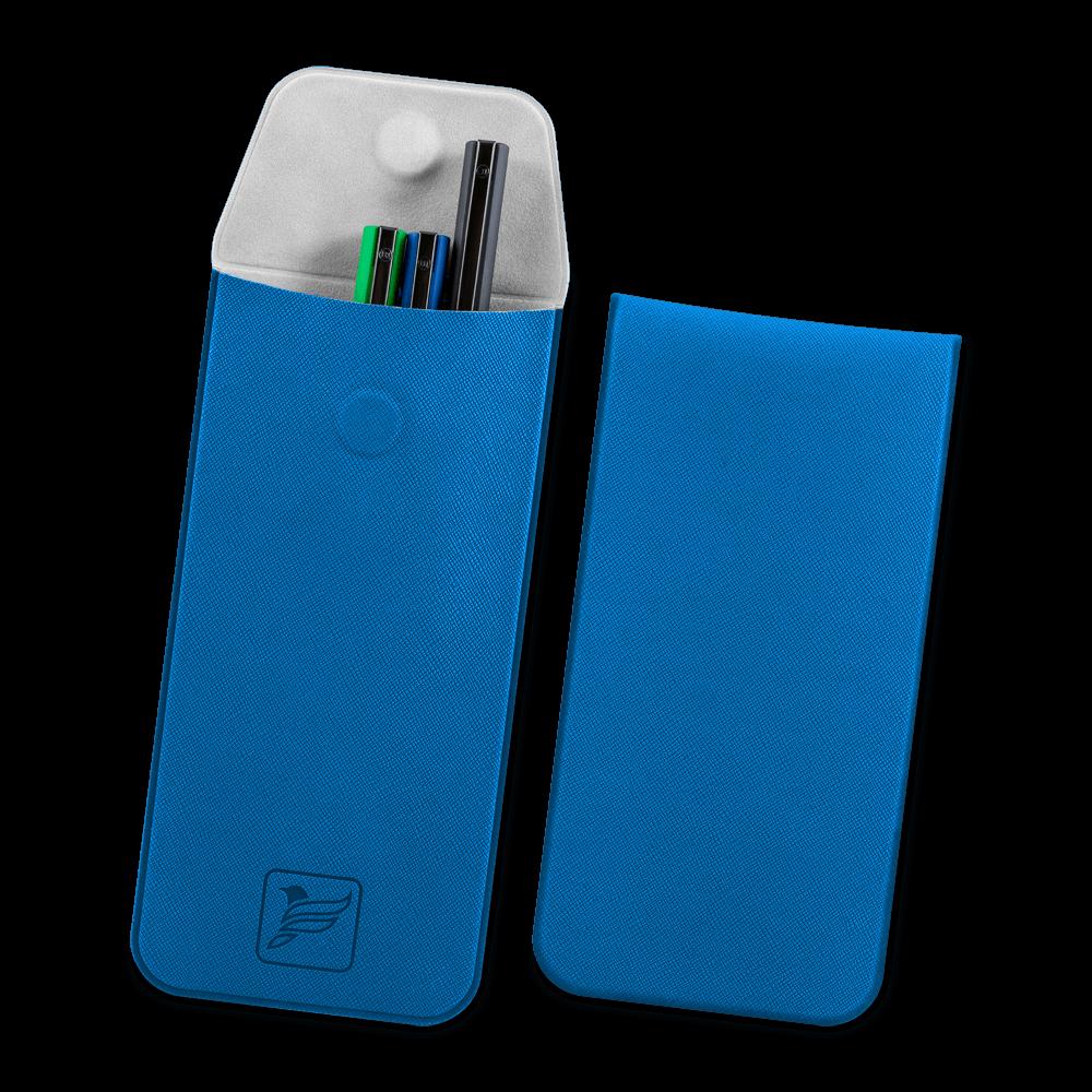 Футляр для ручек, цвет синий