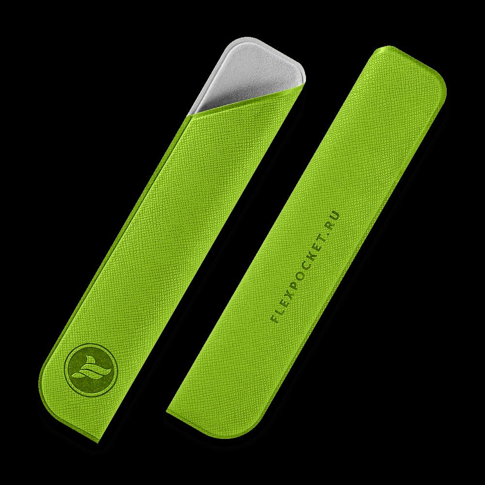 Футляр для ручки, цвет зеленый