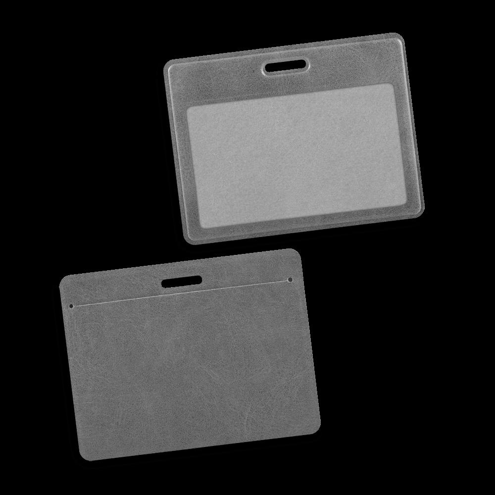 Карман горизонтальный, цвет серый classic