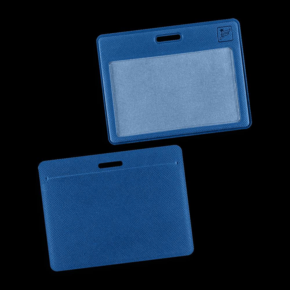 Карман горизонтальный, цвет синий