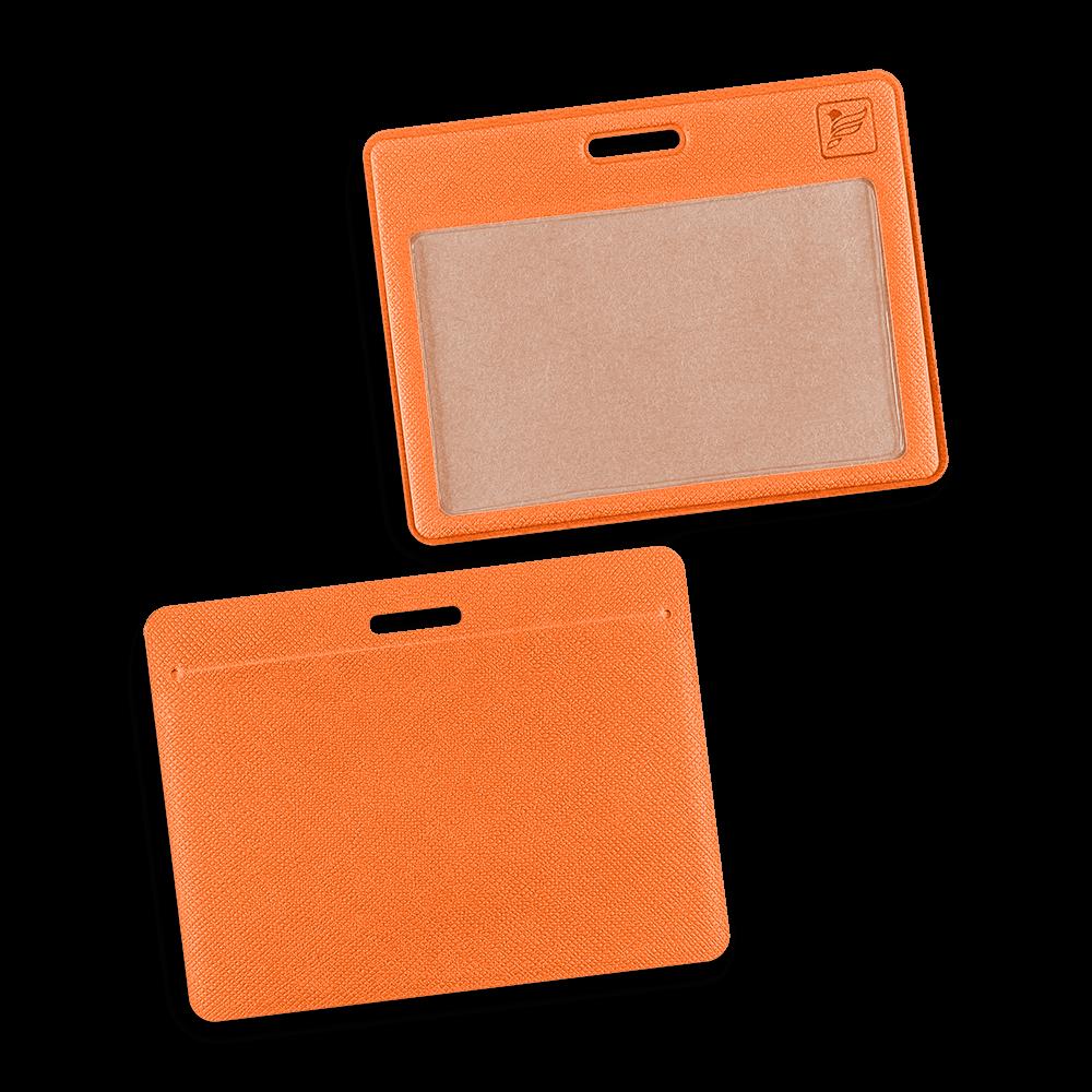 Карман горизонтальный, цвет оранжевый