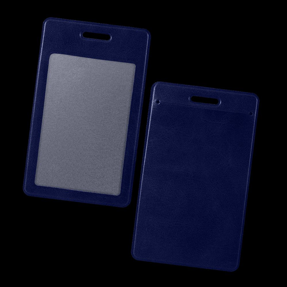 Карман вертикальный, цвет темно-синий classic