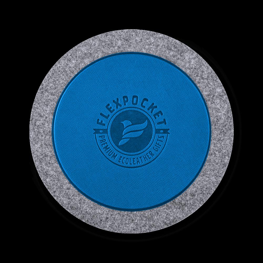 Костер из фетра, цвет синий