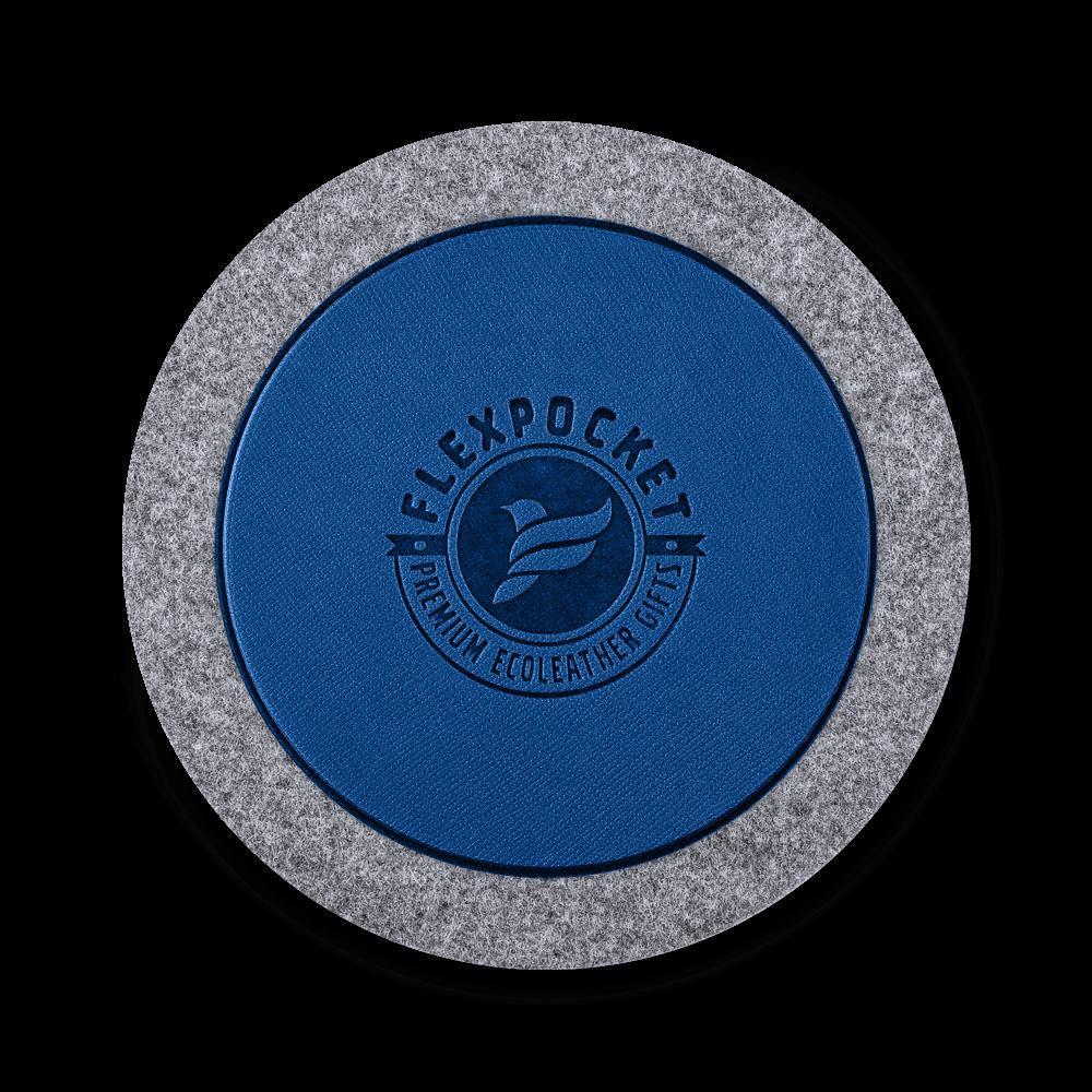 Костер из фетра, цвет темно-синий