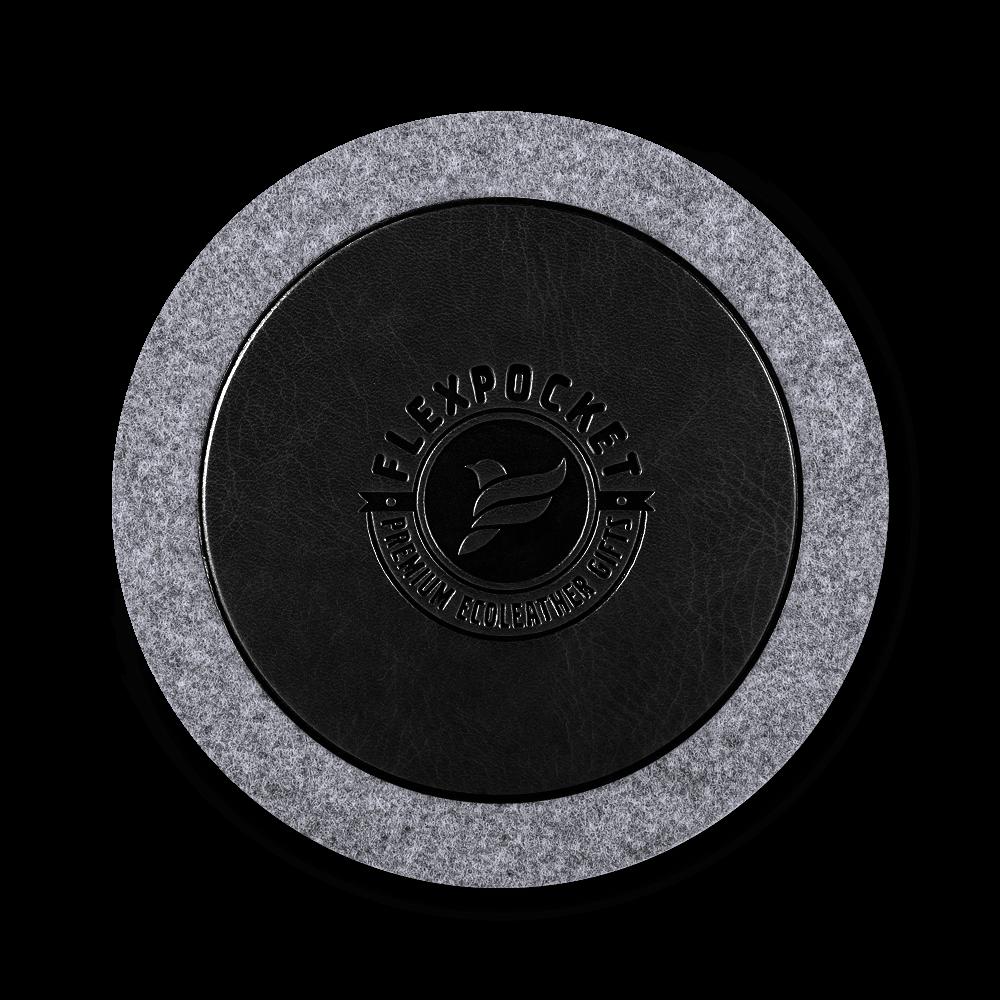 Костер из фетра, цвет черный classic