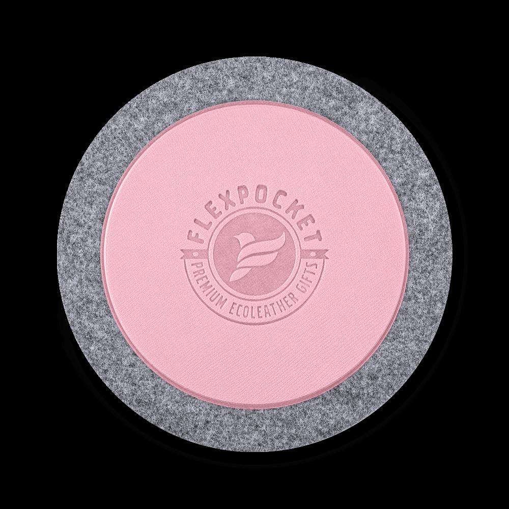 Костер из фетра, цвет розовый