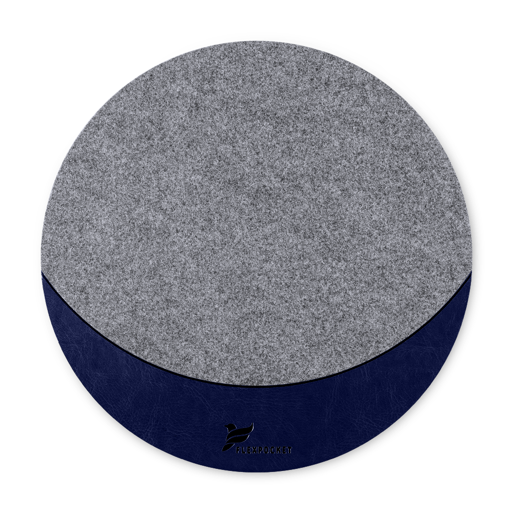 Коврик для мыши из фетра, цвет темно-синий classic