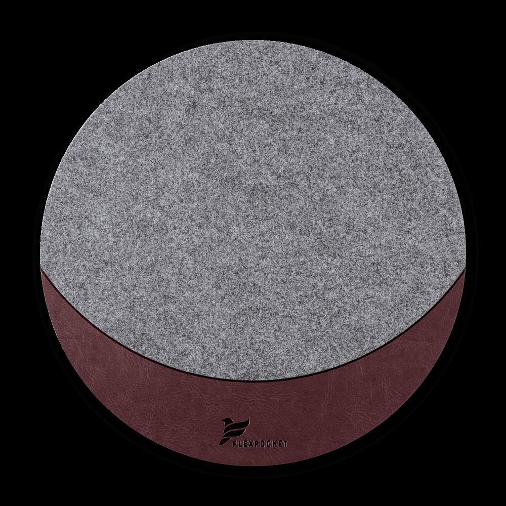 Коврик для мыши из фетра, цвет коричневый classic