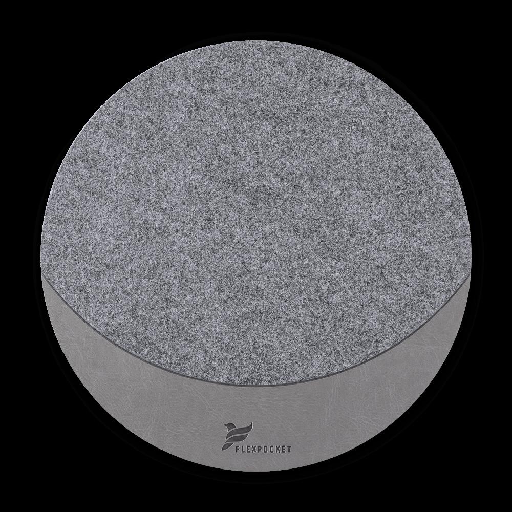 Коврик для мыши из фетра, цвет серый classic
