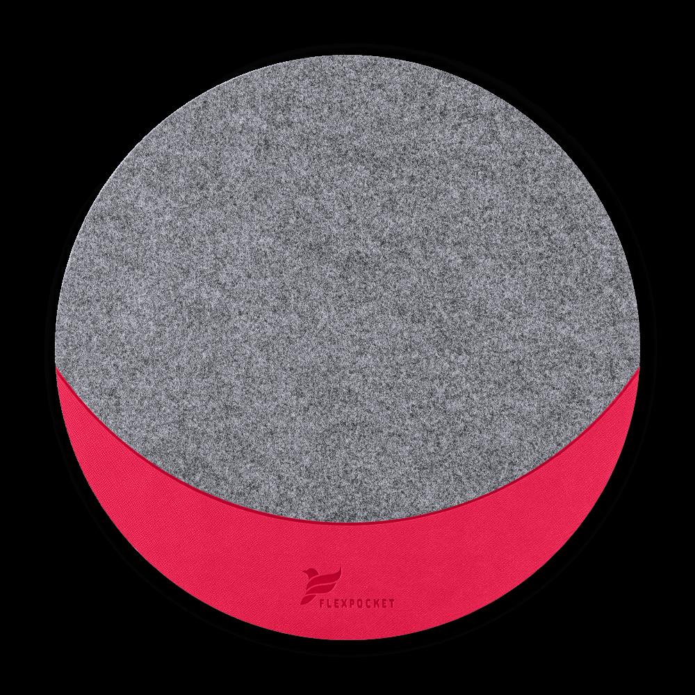 Коврик для мыши из фетра, цвет маджента