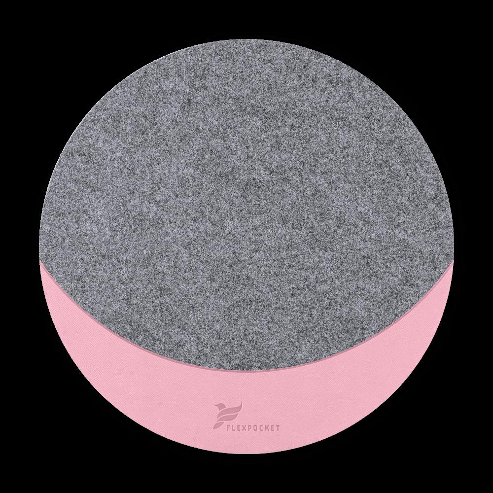 Коврик для мыши из фетра, цвет розовый