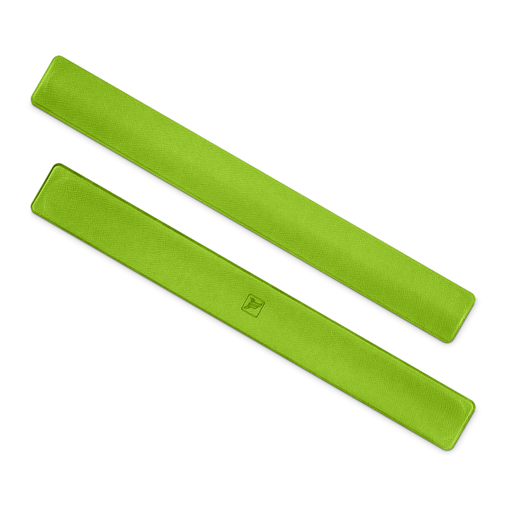 Slap-браслет, цвет зеленый