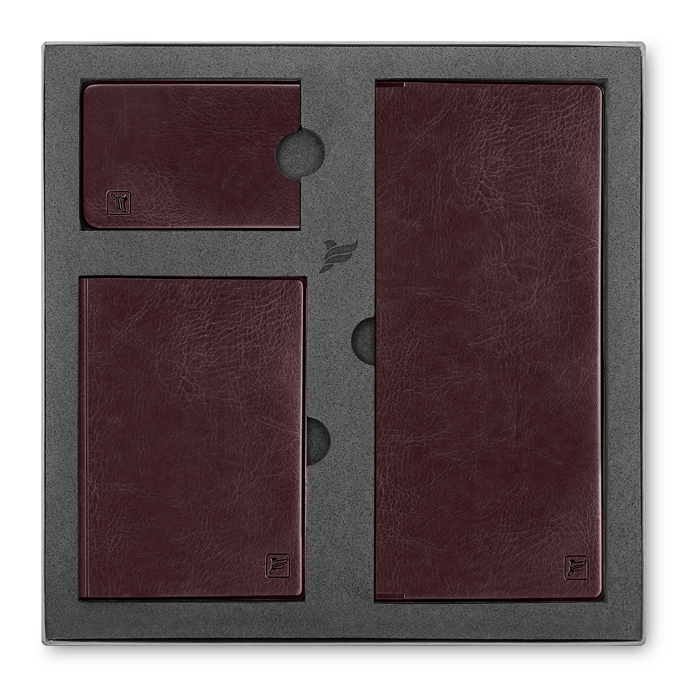 Подарочный набор Flexpocket, цвет коричневый Classic