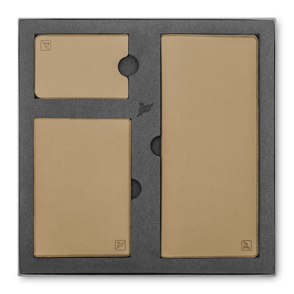 Подарочный набор Flexpocket, цвет бежевый