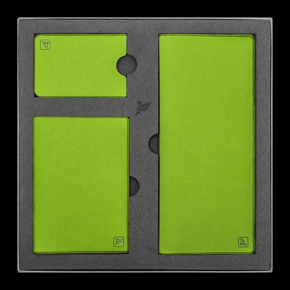 Подарочный набор Flexpocket, цвет зеленый